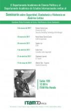 Seminario sobre seguridad, ciudadanía y violencia en América Latina